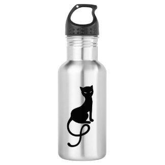 優雅で邪悪な黒猫 ウォーターボトル