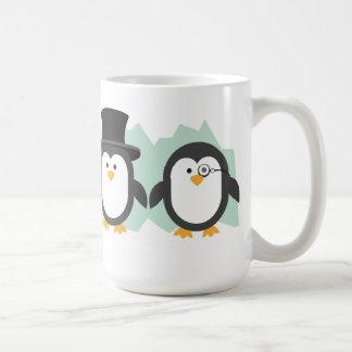 優雅なペンギン コーヒーマグカップ