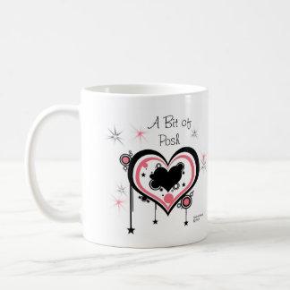 """""""優雅なロゴのビット、TM """"は襲います コーヒーマグカップ"""