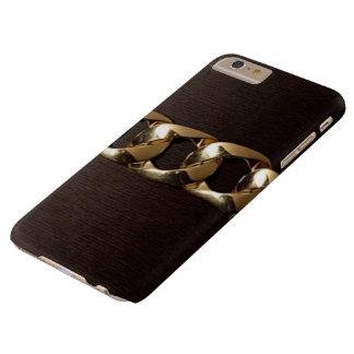 優雅な金ゴールドはIPhone 6のプラスの箱にベルトを付けました Barely There iPhone 6 Plus ケース