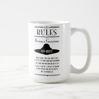 優雅なAbducteeがあることのための規則 コーヒーマグカップ