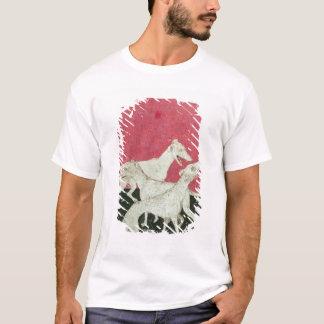 優雅なhawkinの場面 tシャツ