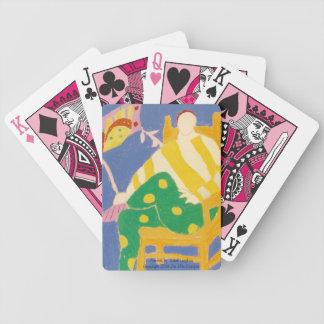 元のジョーカーはカードの支持します バイスクルトランプ