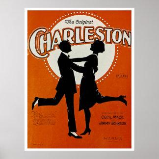 元のチャールストン ポスター