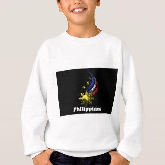 元のフィリピンのロゴ。 Mabuhay Pilipinas! スウェットシャツ