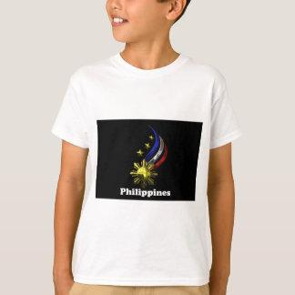 元のフィリピンのロゴ。 Mabuhay Pilipinas! Tシャツ