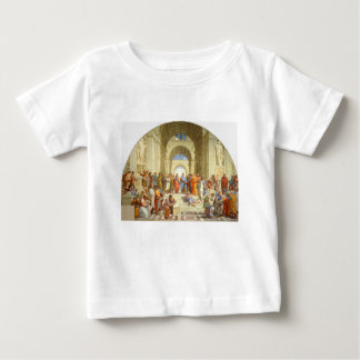 """元のペンキ""""Raffaello著アテネの学校"""" ベビーTシャツ"""