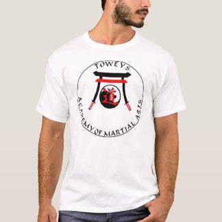 元のロゴのToweyの武道のアカデミー Tシャツ
