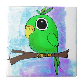 元の多彩な鳥のデザイン タイル