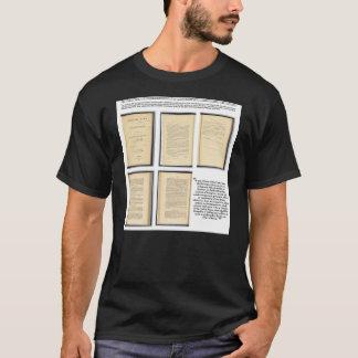 元の憲法の修正XIIIの証拠 Tシャツ