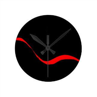 元の抽象美術の時計 ラウンド壁時計