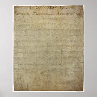 元の独立宣言 ポスター