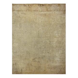 元の独立宣言 ポストカード
