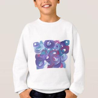 元の絵画からの抽象デザイン スウェットシャツ