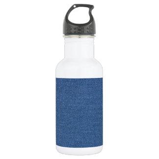 元の織布の青いファッションのジーンのデニム ウォーターボトル