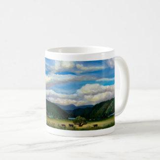 元の芸術のクインシーのコーヒーか茶マグ コーヒーマグカップ