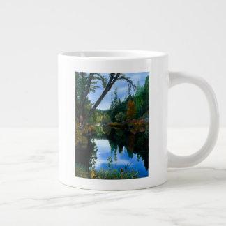 元の芸術のクインシーのコーヒー茶マグ ジャンボコーヒーマグカップ