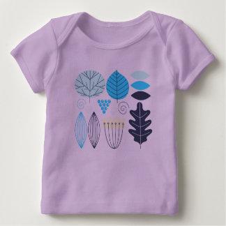 元の設計者のTシャツ: ラベンダー ベビーTシャツ