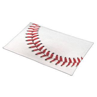 元の野球の球 ランチョンマット