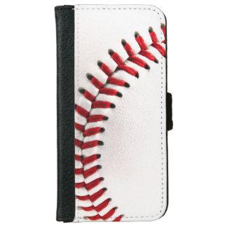 元の野球の球 iPhone 6/6S ウォレットケース