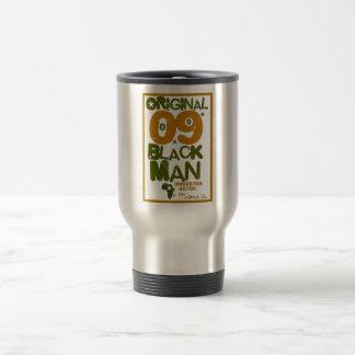 元の黒人男性のコーヒー・マグ トラベルマグ
