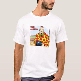 元気な禅のボーリング Tシャツ