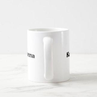 元素説の自由なキャラクターのマグ コーヒーマグカップ