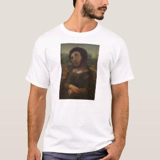 元通りにされたモナ・リザ Tシャツ