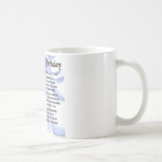 兄弟の詩の第70誕生日 コーヒーマグカップ
