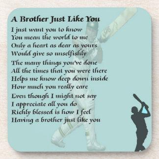 兄弟の詩-コオロギ コースター