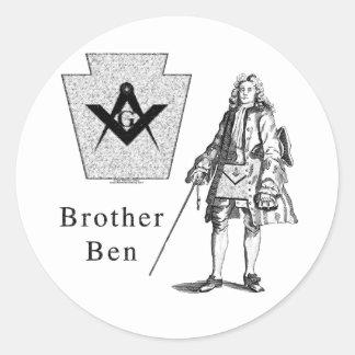 兄弟ベンフランクリン ラウンドシール
