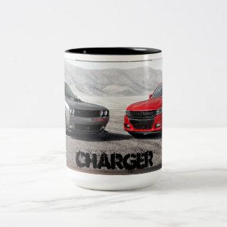 充電器のコーヒー・マグ ツートーンマグカップ