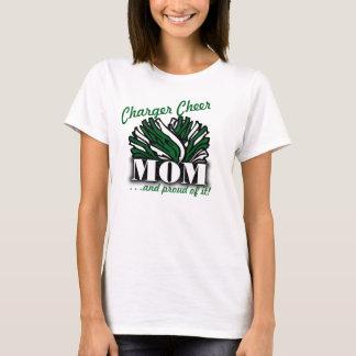 充電器の応援Mom3 Tシャツ