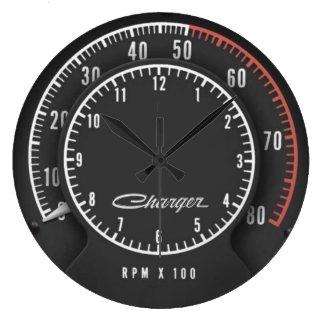 充電器のTic TOCタコメーターの時計 ラージ壁時計