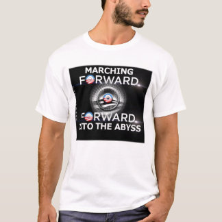 先に地獄に行進 Tシャツ