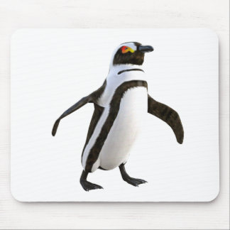 先に歩いているペンギン マウスパッド