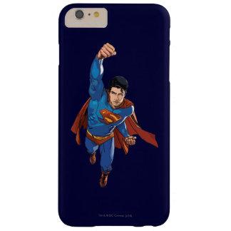 先に飛んでいるスーパーマン スキニー iPhone 6 PLUS ケース