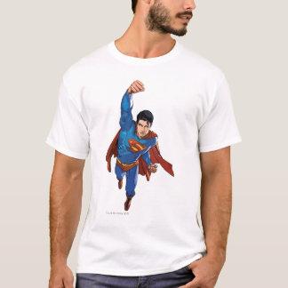 先に飛んでいるスーパーマン Tシャツ