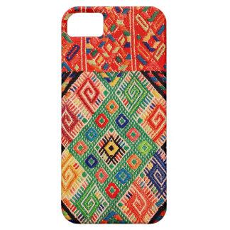 先住民によって編まれる織物 iPhone SE/5/5s ケース