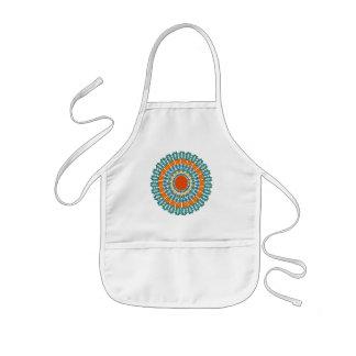 先住民インスパイアエプロン-スタイル及び色を選んで下さい 子供用エプロン