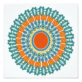 先住民インスパイア招待は、カスタマイズ カード