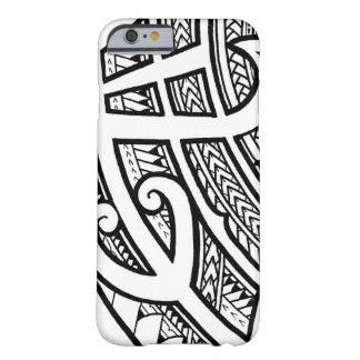 先峰とのはっきりしたな種族の入れ墨の島のデザイン BARELY THERE iPhone 6 ケース