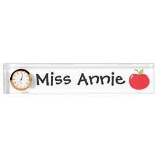 先生のためのApple デスクネームプレート