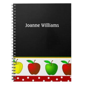 先生のりんごのノート ノートブック