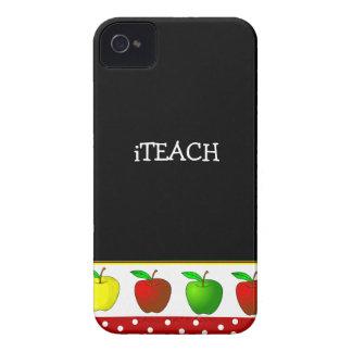 先生のカラフルなりんごのiphone 4ケース Case-Mate iPhone 4 ケース