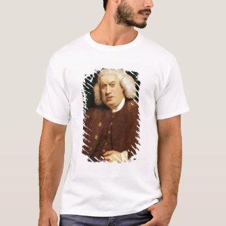 先生のサミュエル・ジョンソンポートレート Tシャツ
