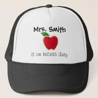 先生の休憩の義務の帽子 キャップ