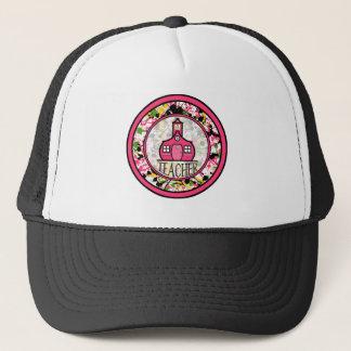 先生の帽子-多彩なペンキの(ばちゃばちゃ)跳ねる キャップ