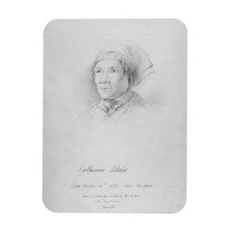 先生の後のキャサリンブレイク(1762-1831年)のポートレート マグネット