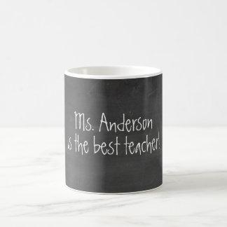先生の感謝|の黒板 コーヒーマグカップ